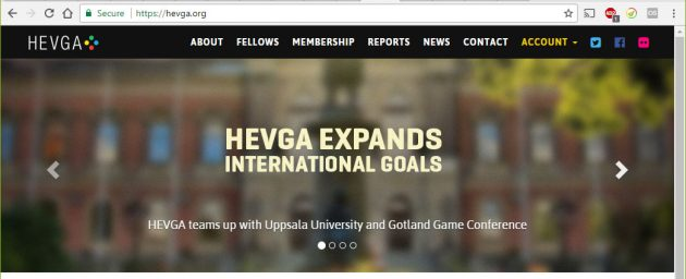 The Higher Education Video Game Alliance is joining us on Gotland at the end of may!