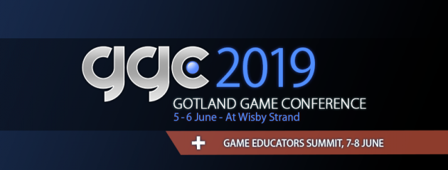 Gotland Game Conference 2019 is scheduled 5-6th of June, with the Educators Summit right after.