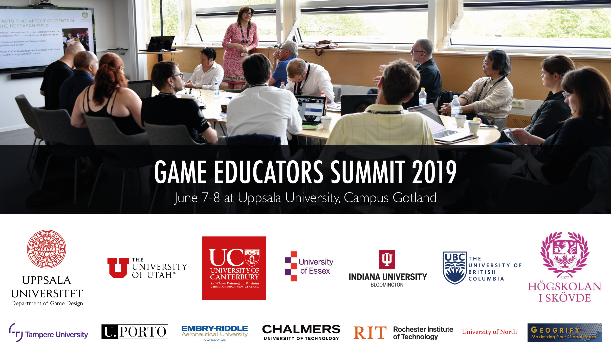 Game Educators Summit – Gotland Game Conference 2019